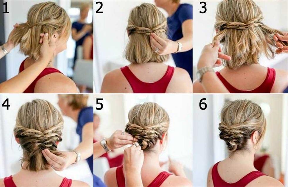 DIY kurze Frisuren Sammlung Mittellanges Haar