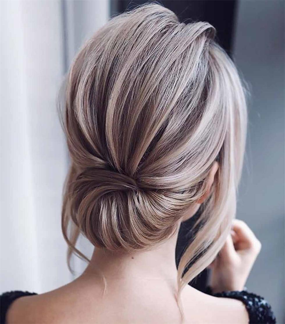 Mittellange Haare Brötchen Frisuren