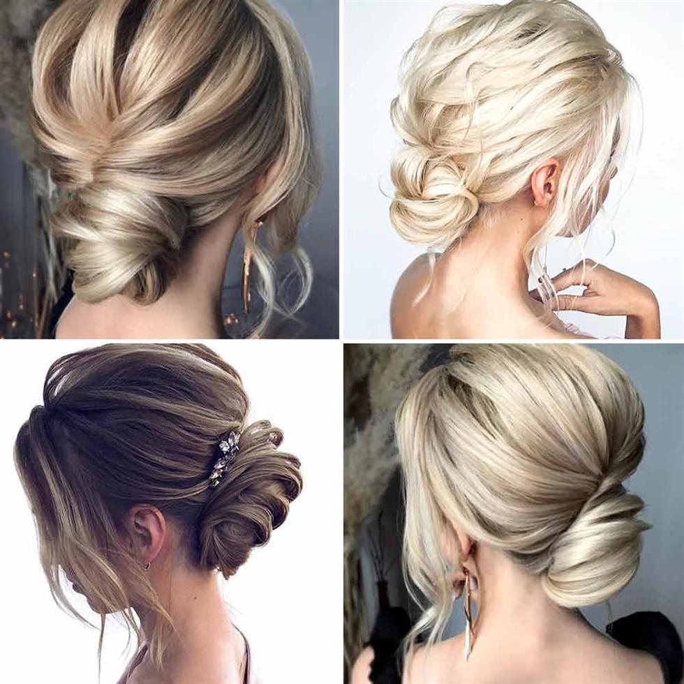 Mittellange Haare Frisuren Brotchen