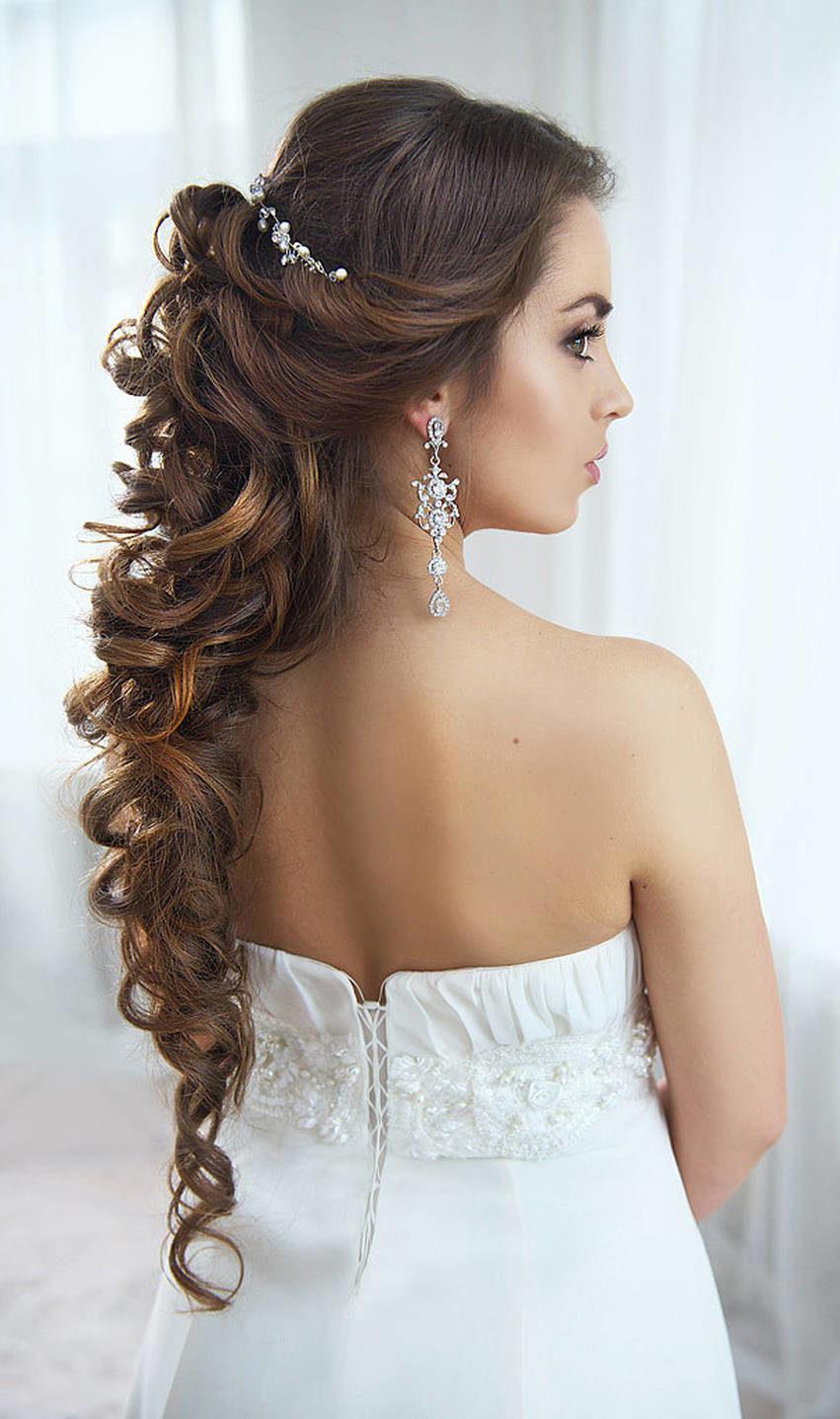 Frisuren Lange Haare 2020 fur die Hochzeit