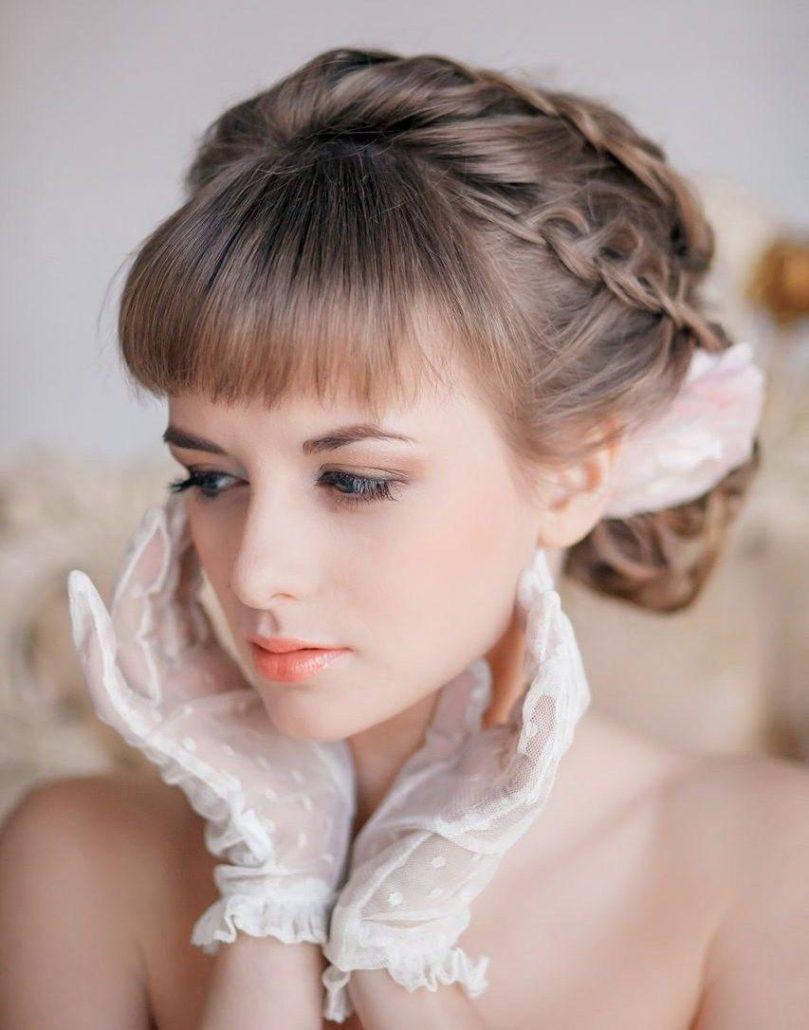 Hochzeitsfrisuren Midpony