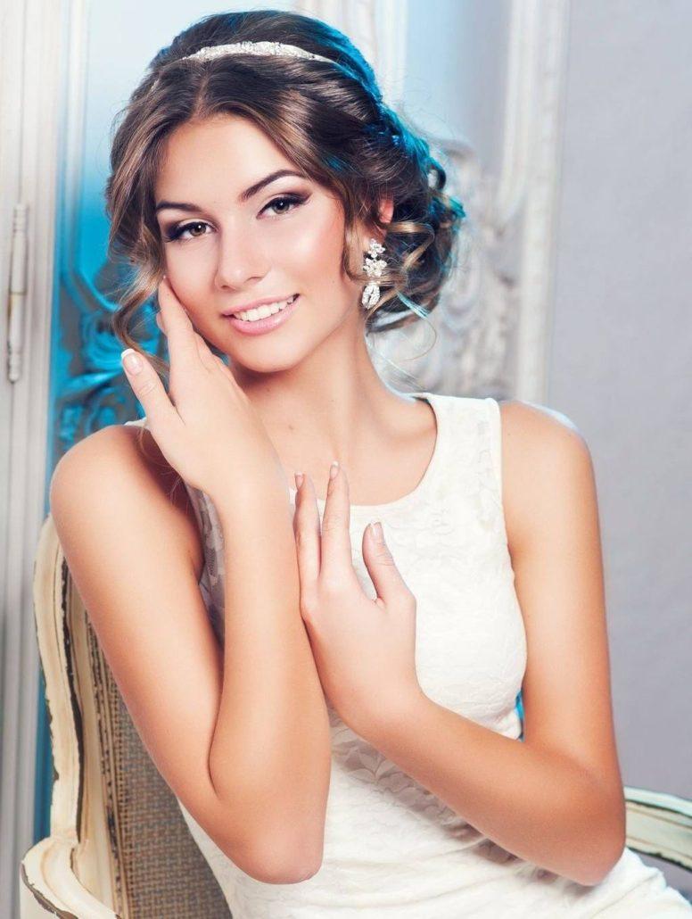 Mittellang Haar fur Hochzeitsfrisuren