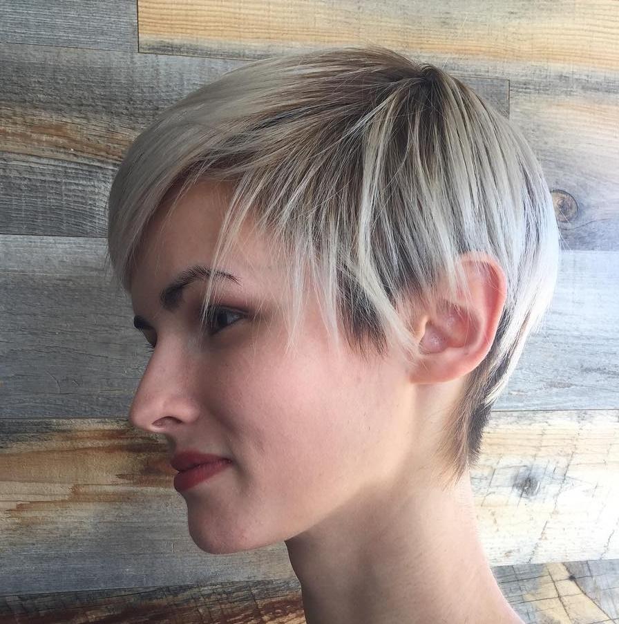 Pixie Frisuren Kurz Haar
