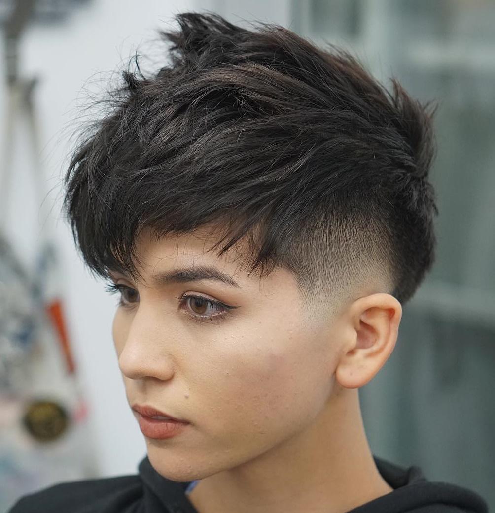 abnehmende Haare auch pixie