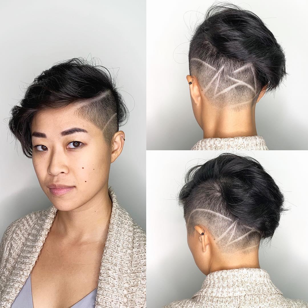 asiatischer Stil fur pixie frisuren