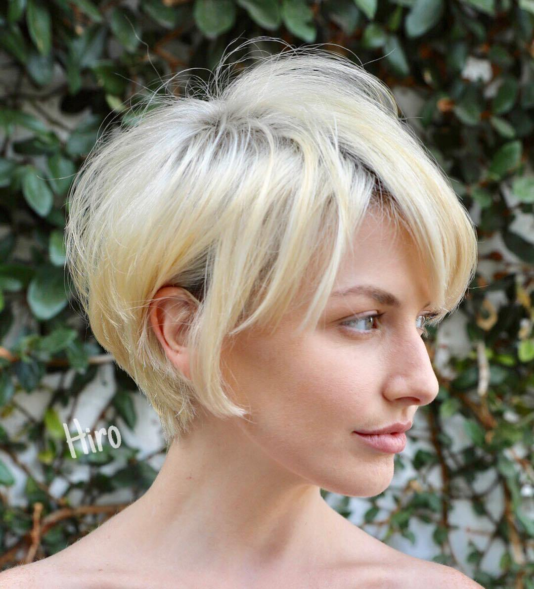 pixie frisuren blondine
