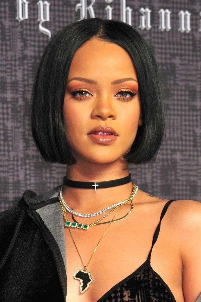Bob Frisuren 2021 Rihanna