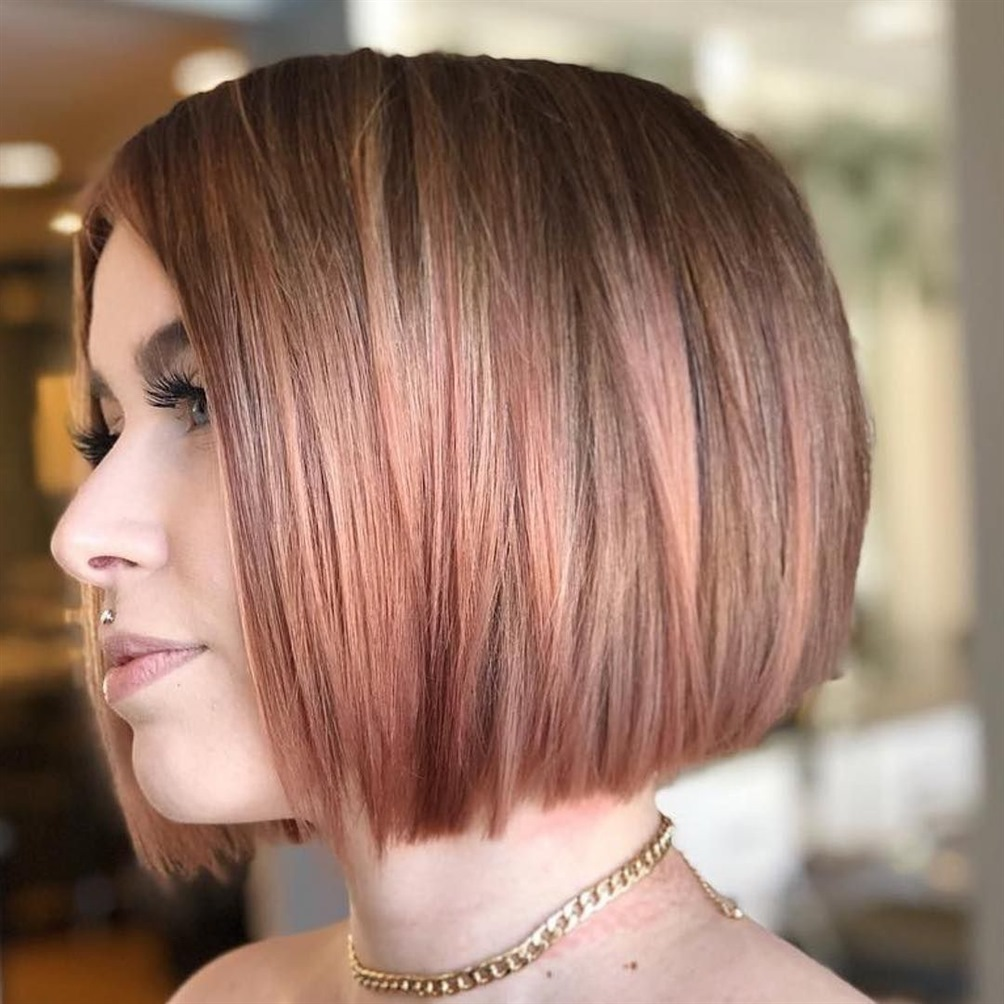 Frisuren 2021 Frauen Bob