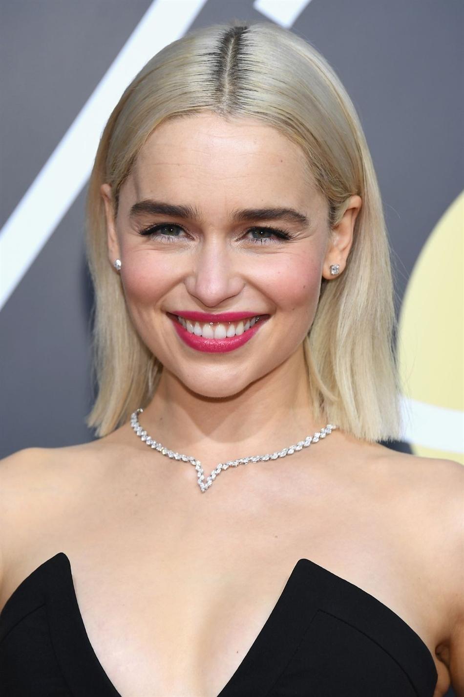 Frisuren Damen Emilia Clarke