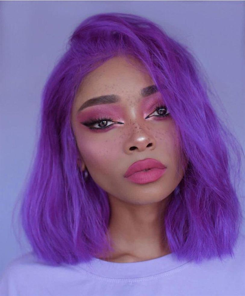 Haarfarben Lila