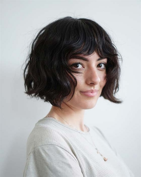 Bob Frisuren Kurz Locken