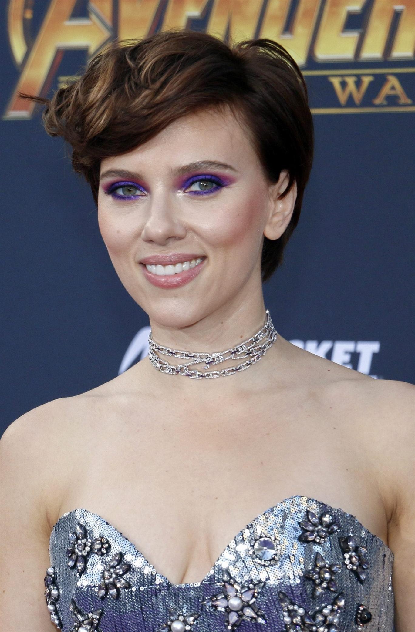 Kurzhaarfrisuren 2021 Scarlett Johanssons