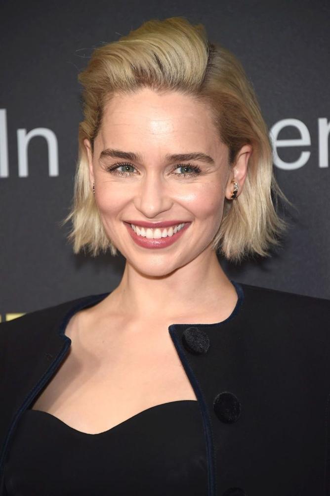 Kurzhaarfrisuren Damen 2021 Emilia Clarke