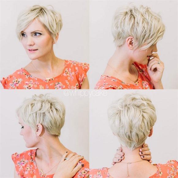Kurzhaarfrisuren Lockiges Haare fur Frauen
