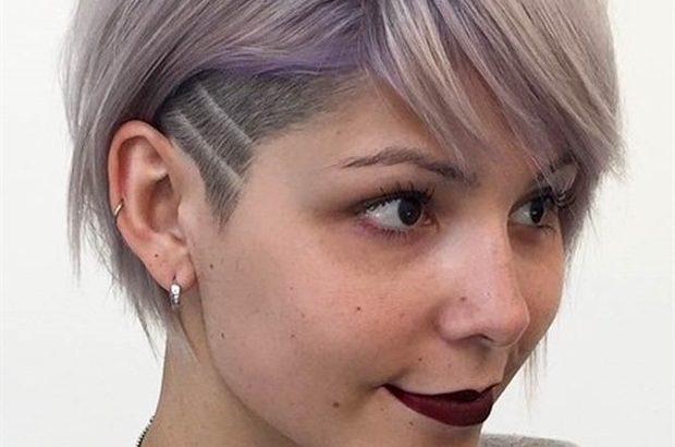 Undercut Kurzhaarfrisuren fur Dunnes Haar