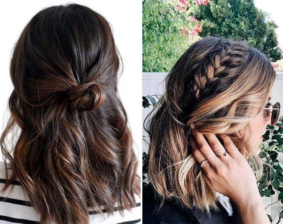 Frisuren für mittelkurzes Haar