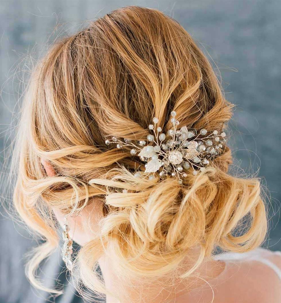 Hochzeitsfrisuren Mittellange Haare Elegant