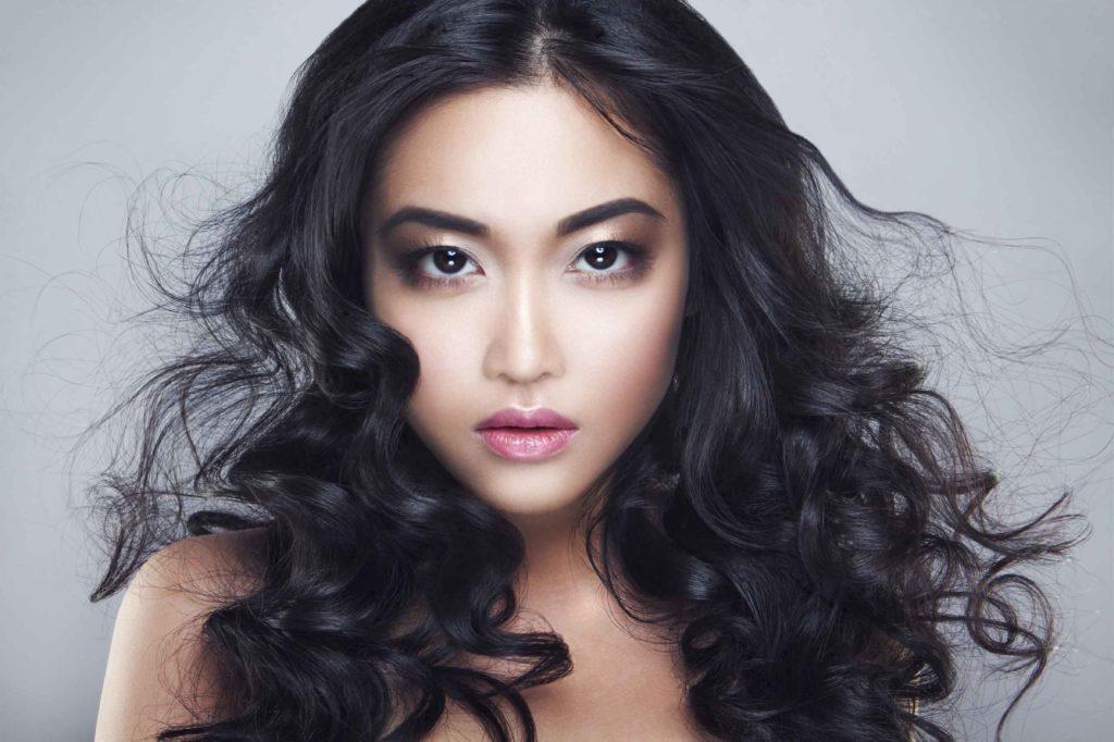 Asiatisch Frisuren mit Locken 2020