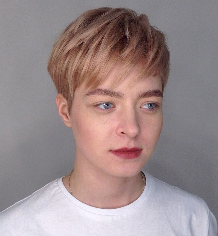 pixie frisuren fur rundes Gesicht