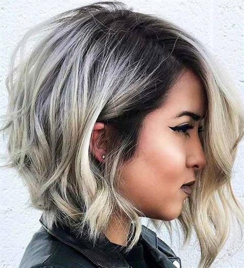 Frisuren Welliges Haar Mittellang